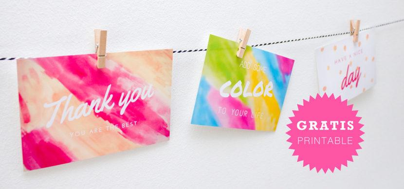 Gratis printable kaarten - Ohlalau