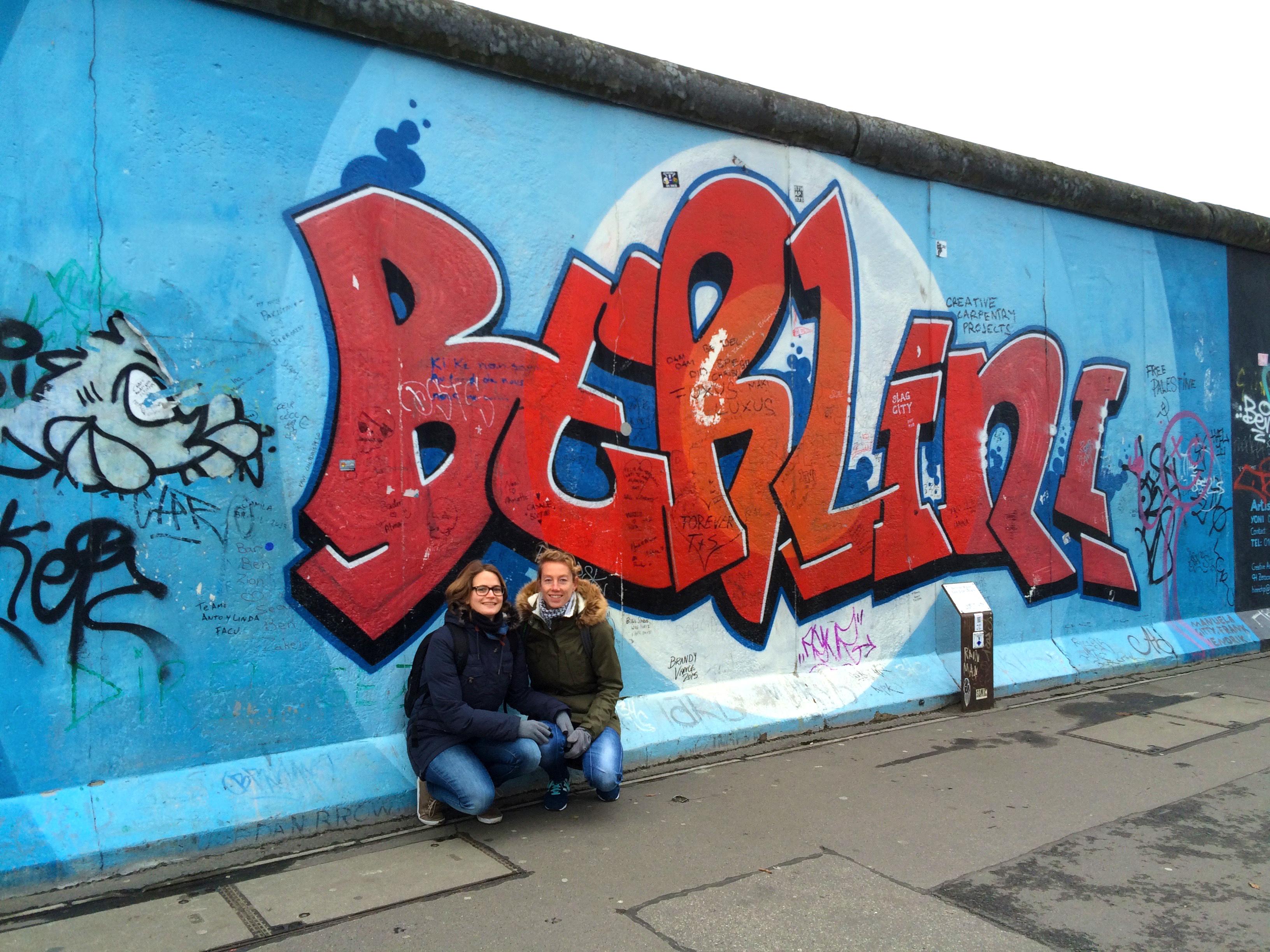 In berlijn is het best wel fijn ohlalau online communicatie - Muur van de ingang ...