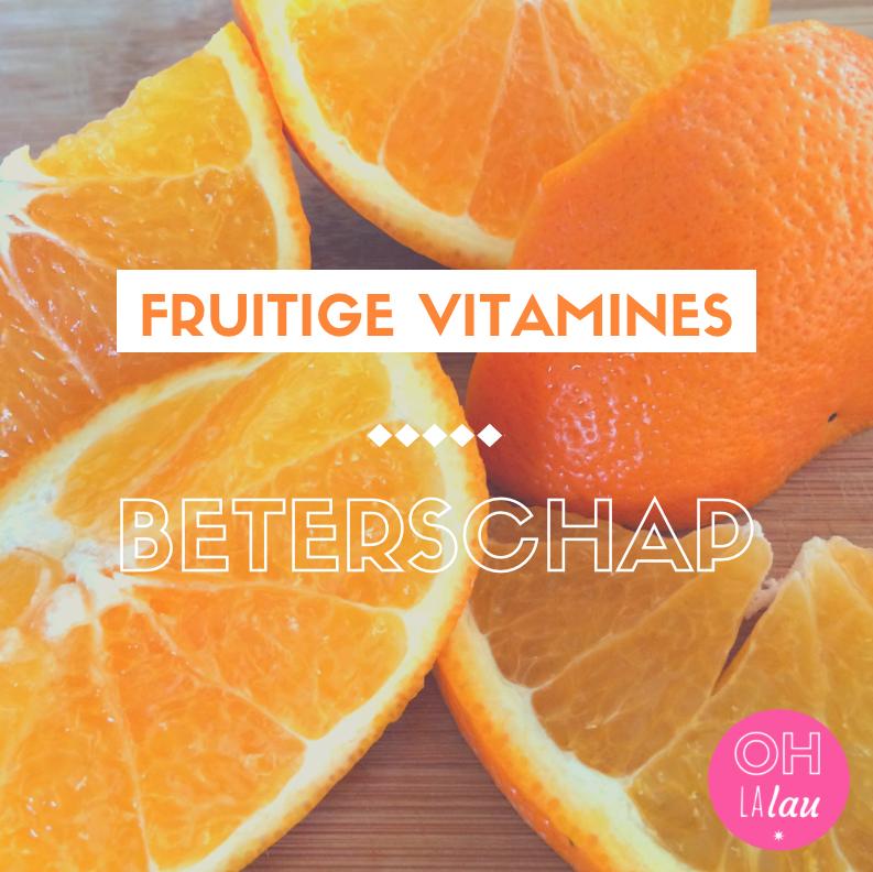 Fruitige Vitamines, beterschap! ©Ohlalau.nl