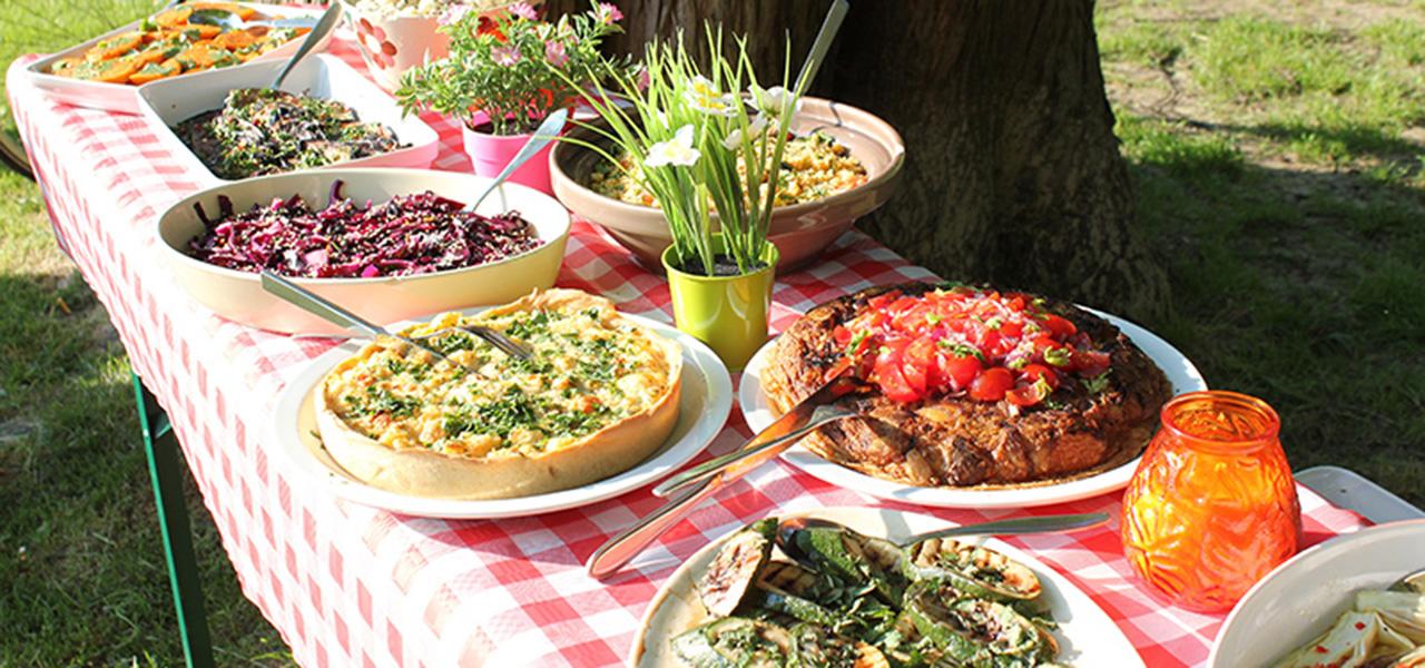 Eten bij de Buuf in het Vondelpark