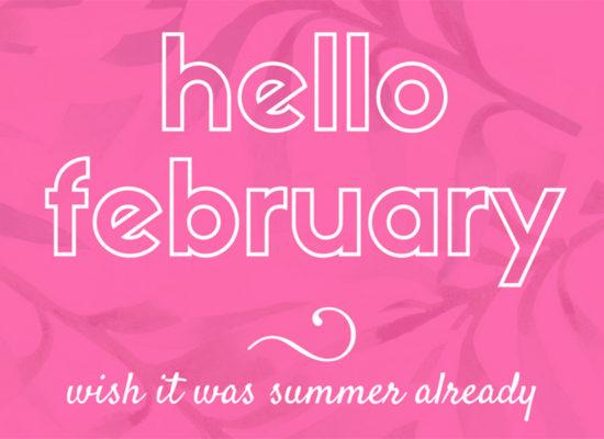 quote hello february - Ohlalau