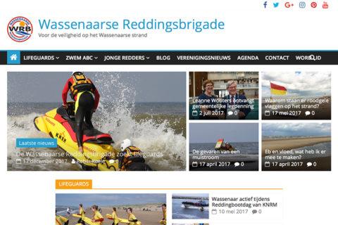 Website Wassenaarse Reddingsbrigade