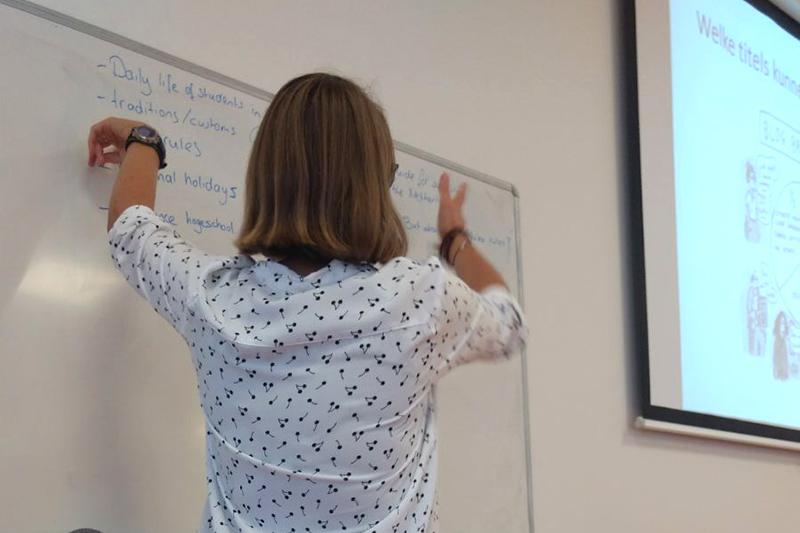 Workshop bloggen EL CID voor Universiteit Leiden