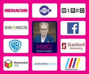 Merken bij sprekers MWG Mediacongres