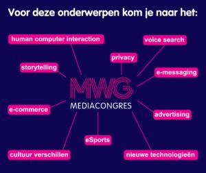 Onderwerpcloud MWG Mediacongres